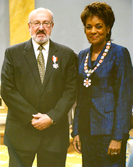 Order of Canada, Pat and Governor General